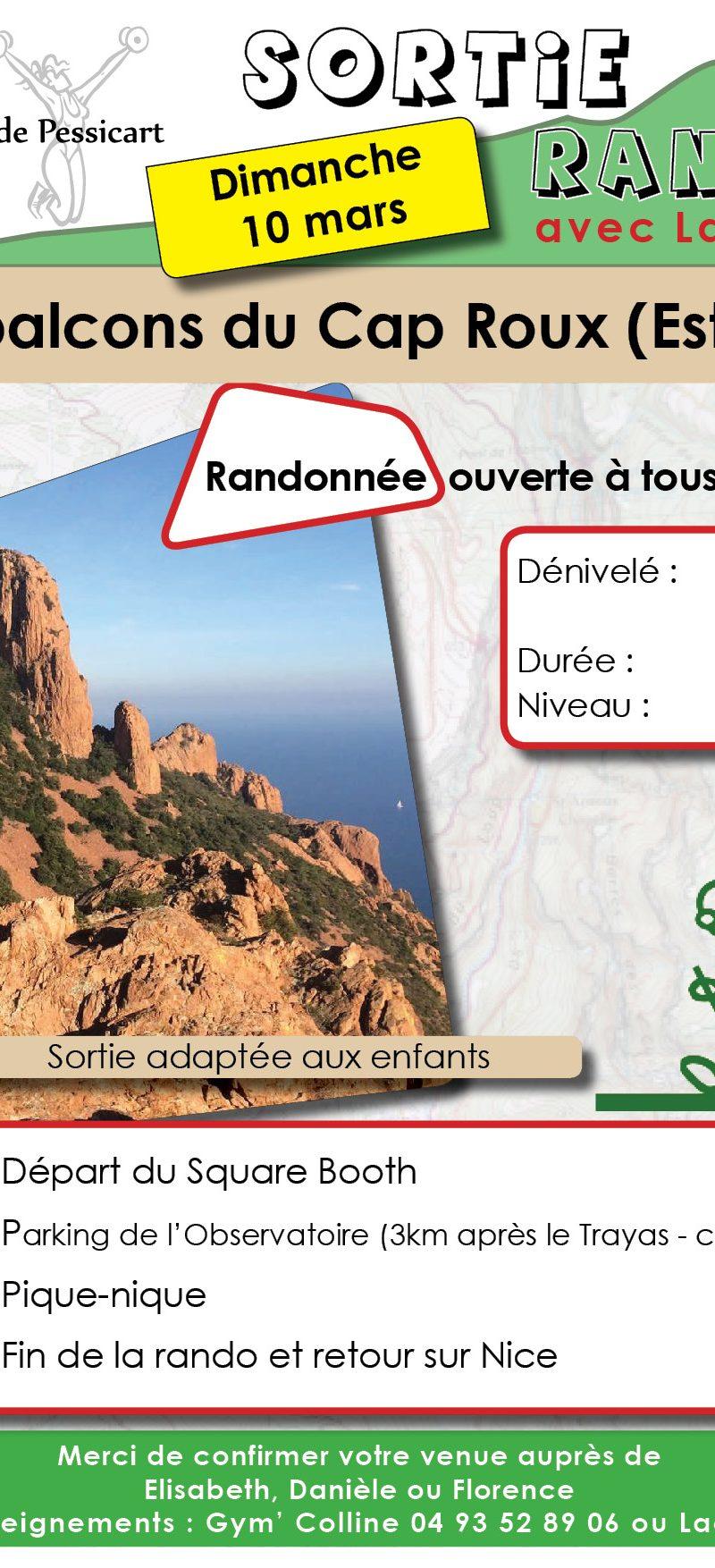 DIMANCHE 10 MARS / RANDONNÉE
