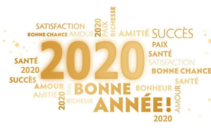 LA GYM' COLLINE VOUS PRÉSENTE SES MEILLEURS VŒUX POUR 2020